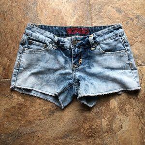 🆕 Bongo Light Wash Denim Shorts
